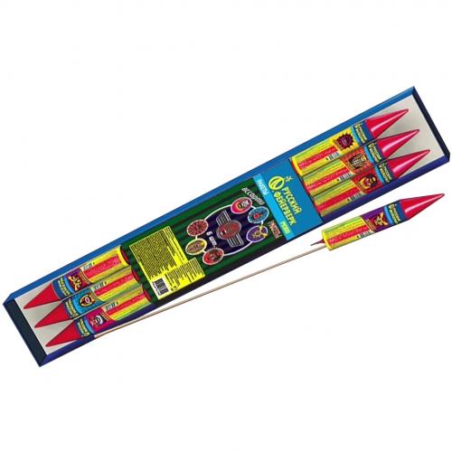 P2300 ракета АССОРТИ *1/6/432 (шт.) ЦЕНА ЗА  1 УПАКОВКУ (6шт.)